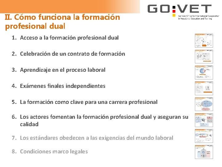 II. Cómo funciona la formación profesional dual 1. Acceso a la formación profesional dual