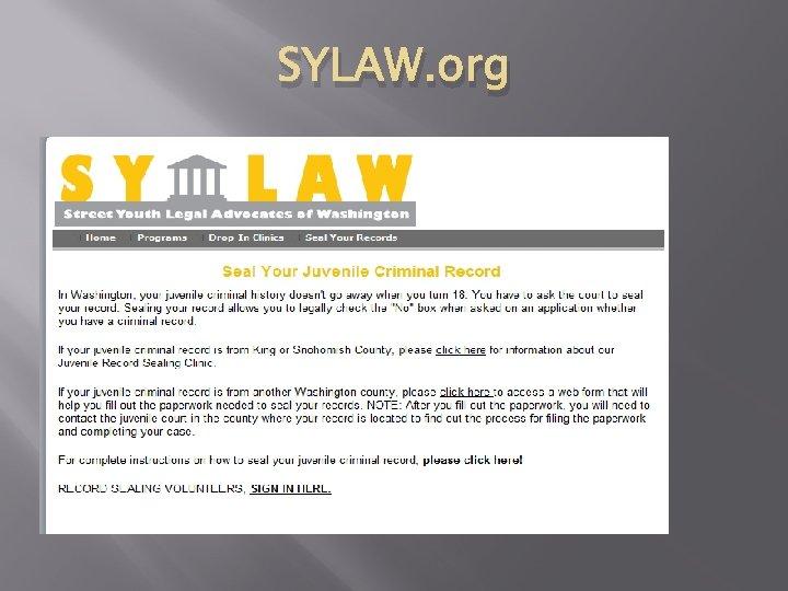 SYLAW. org