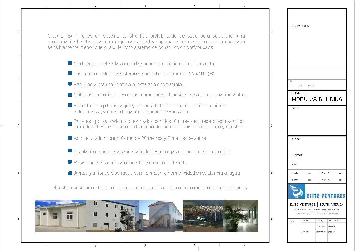 Modular Building es un sistema constructivo prefabricado pensado para solucionar una problemática habitacional que