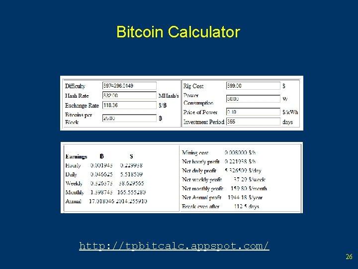 cum funcționează profit bitcoin