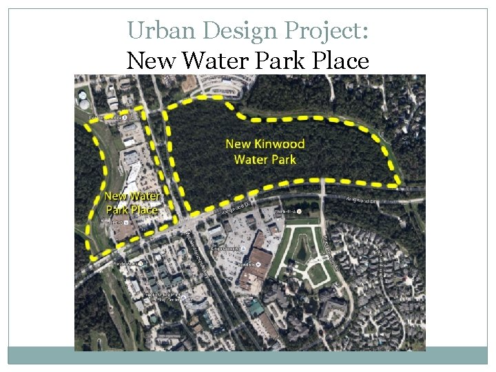 Urban Design Project: New Water Park Place