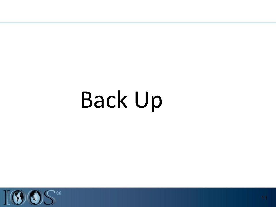 Back Up 11