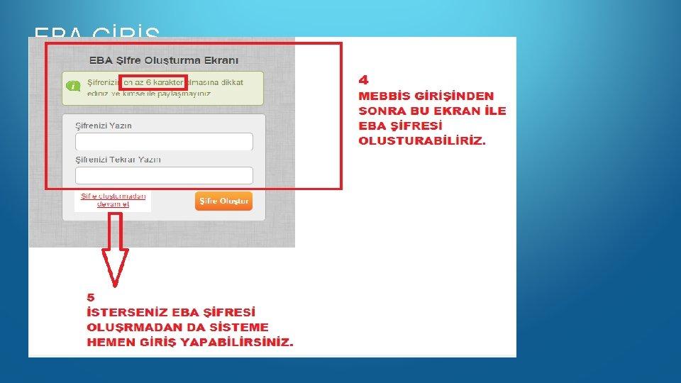 EBA GİRİŞ www. eba. gov. tr
