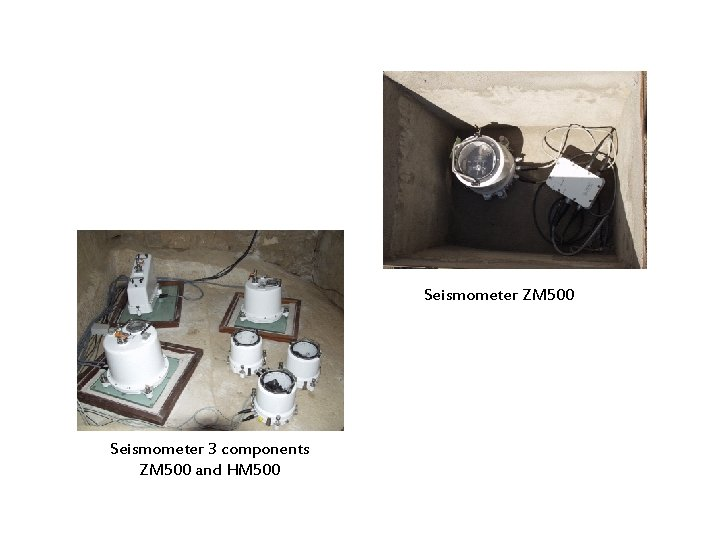 Seismometer ZM 500 Seismometer 3 components ZM 500 and HM 500