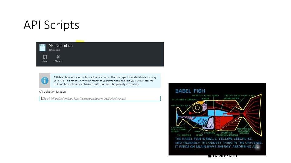 API Scripts @David. Giard