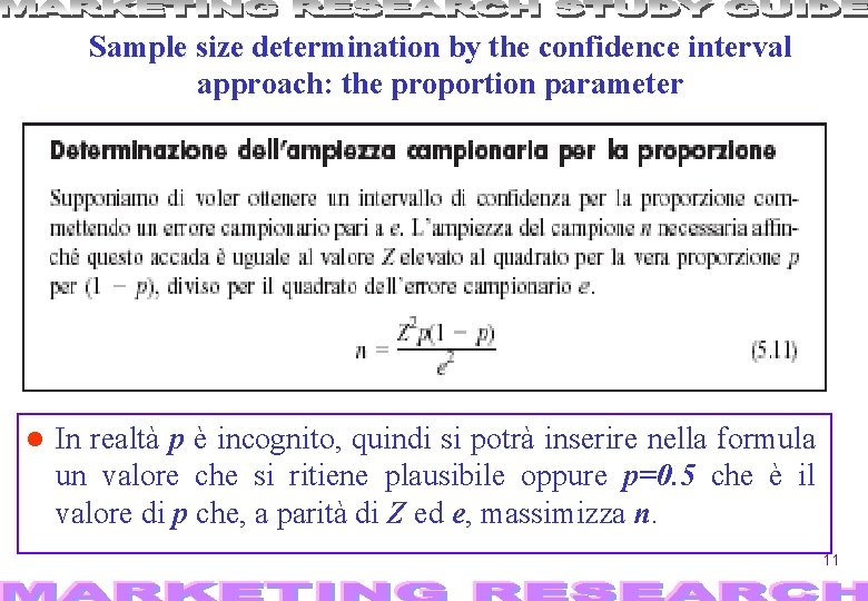 Sample size determination by the t confidence interval approach: the proportion parameter In realtà