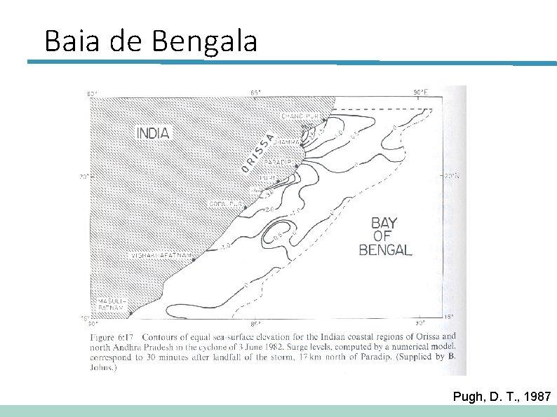 Baia de Bengala Pugh, D. T. , 1987