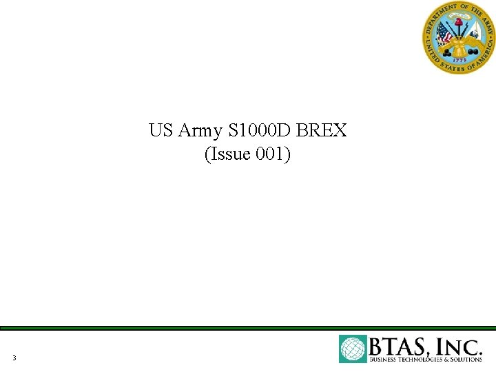 US Army S 1000 D BREX (Issue 001) 3