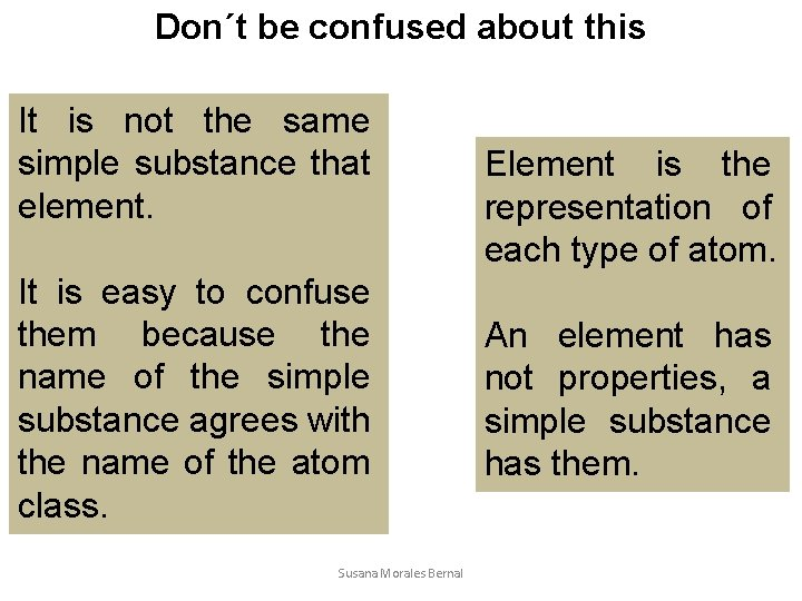 Don´t be confused about this It is not the same simple substance that element.