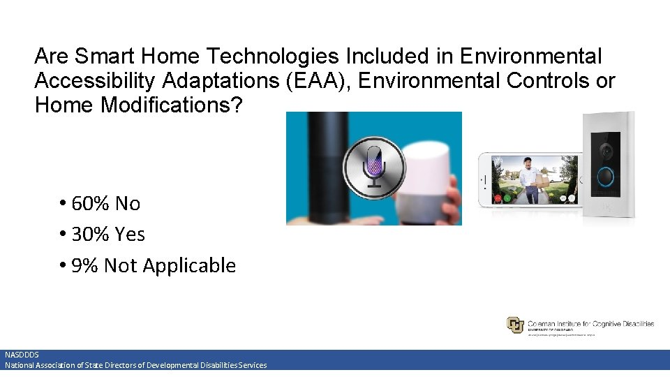 Are Smart Home Technologies Included in Environmental Accessibility Adaptations (EAA), Environmental Controls or Home