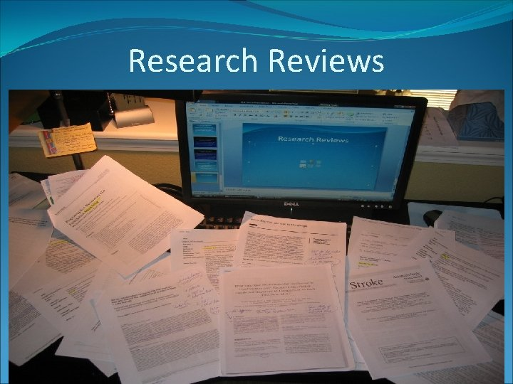 Research Reviews
