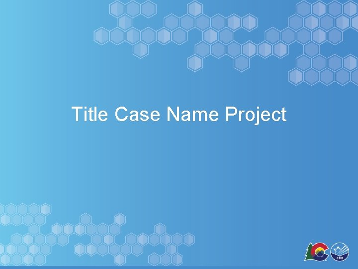 Title Case Name Project