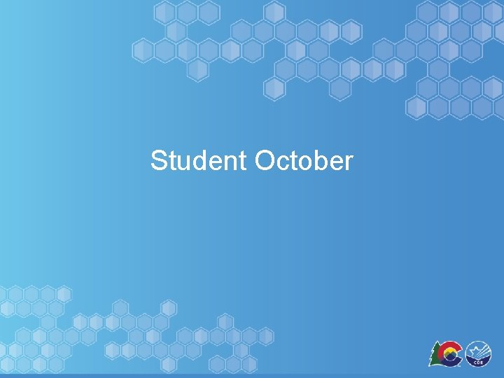 Student October