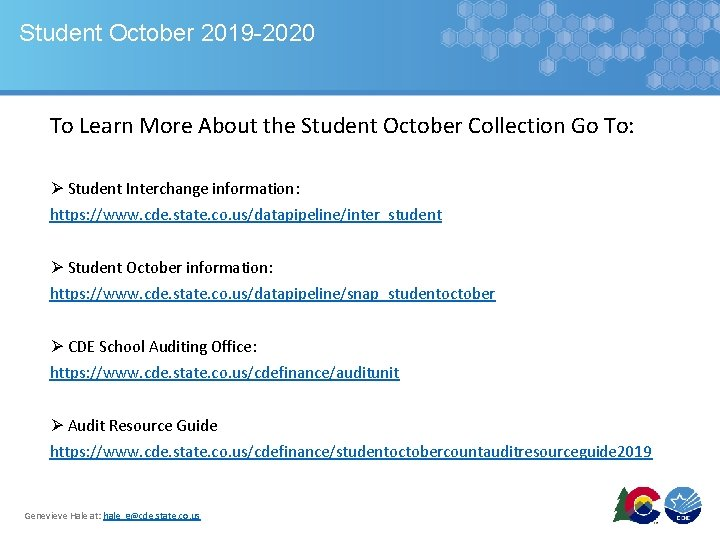 Student October 2019 -2020 To Learn More About the Student October Collection Go To: