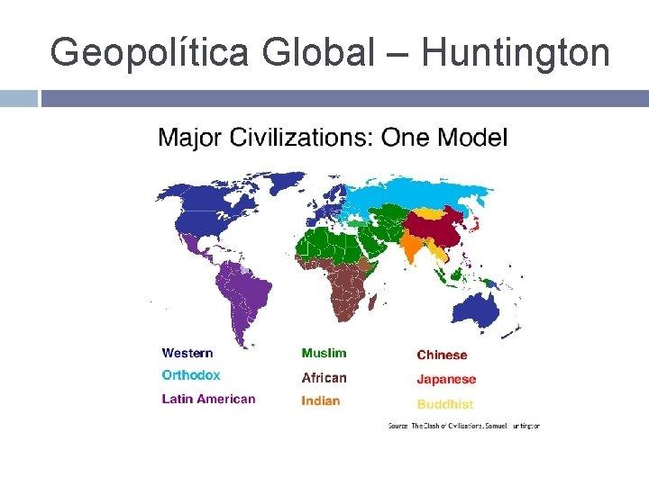 Geopolítica Global – Huntington