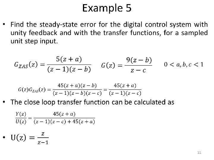 Example 5 • 11