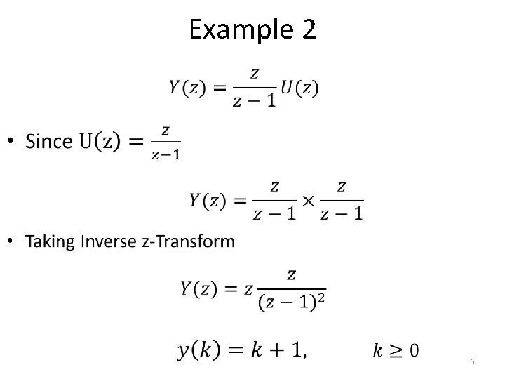Example 2 • 6