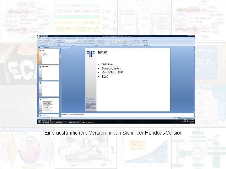 EIM Update und Trends 2010 Dr. Ulrich Kampffmeyer PROJECT CONSULT Unternehmensberatung Dr. Ulrich Kampffmeyer