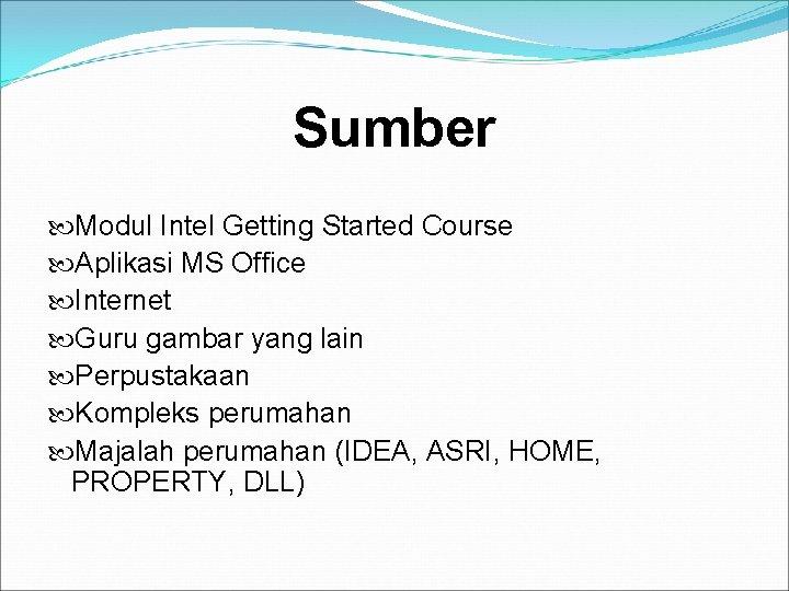 Sumber Modul Intel Getting Started Course Aplikasi MS Office Internet Guru gambar yang lain