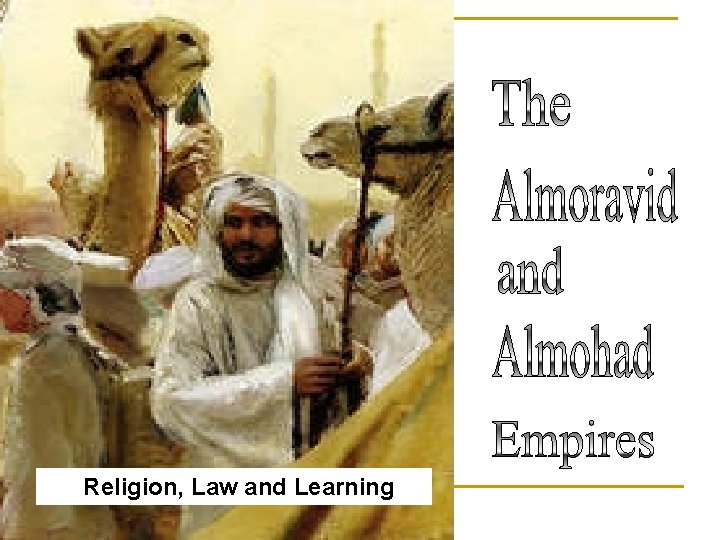 Religion, Law and Learning