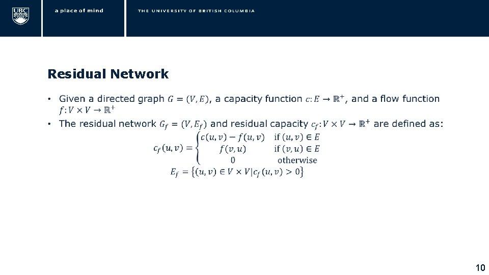 Residual Network • 10