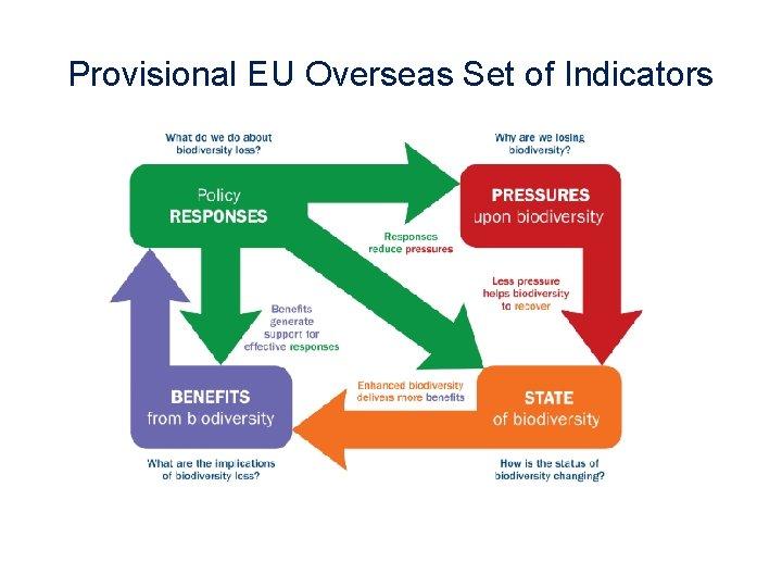 Provisional EU Overseas Set of Indicators