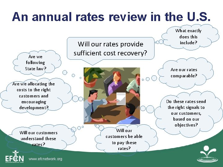 An annual rates review in the U. S. Are we following State law? Will