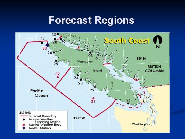 Forecast Regions