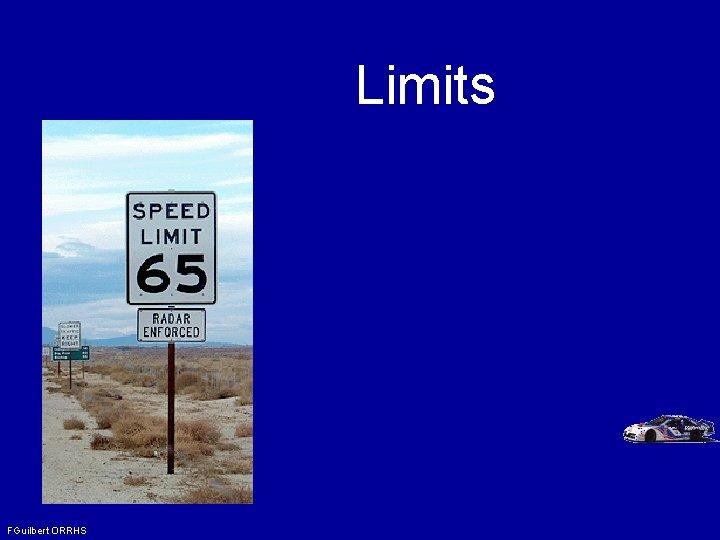 Limits FGuilbert ORRHS