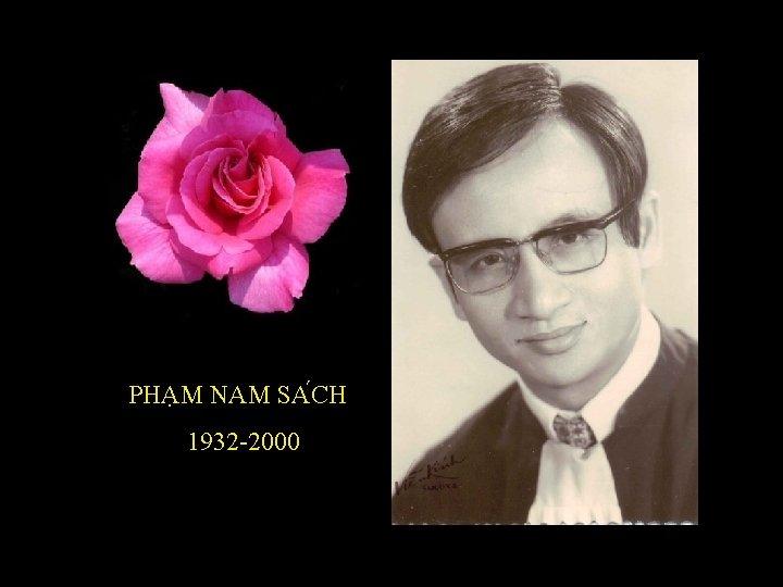 PHA M NAM SA CH 1932 -2000