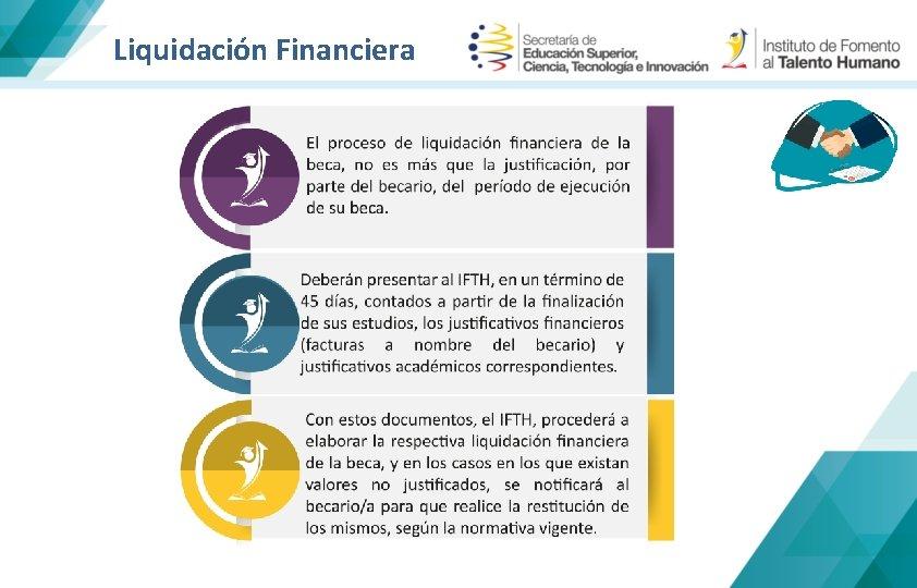 Liquidación Financiera