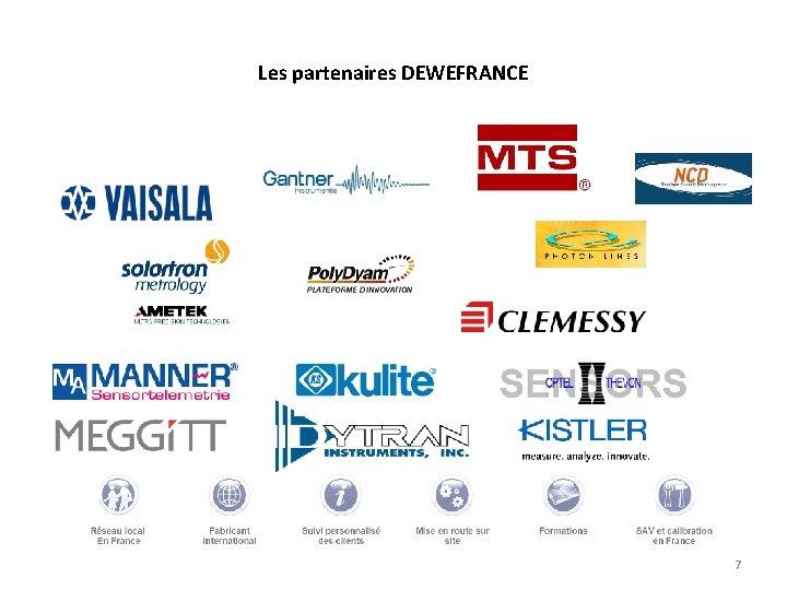 Les partenaires DEWEFRANCE 7