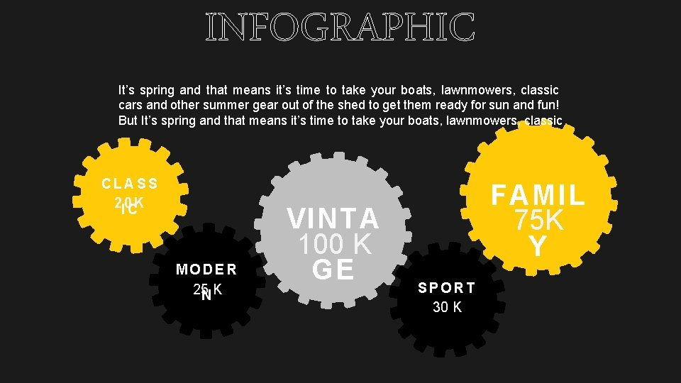 INFOGRAPHIC It's spring and that means it's time to take your boats, lawnmowers, classic
