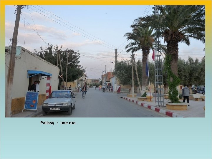 Palissy : une rue.