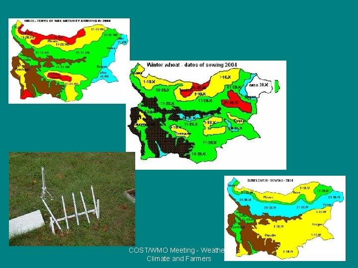 COST/WMO Meeting - Weather, Climate and Farmers