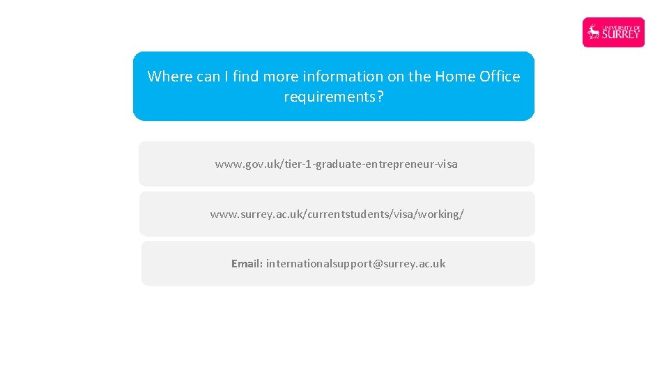 Where can I find more information on the Home Office requirements? www. gov. uk/tier-1