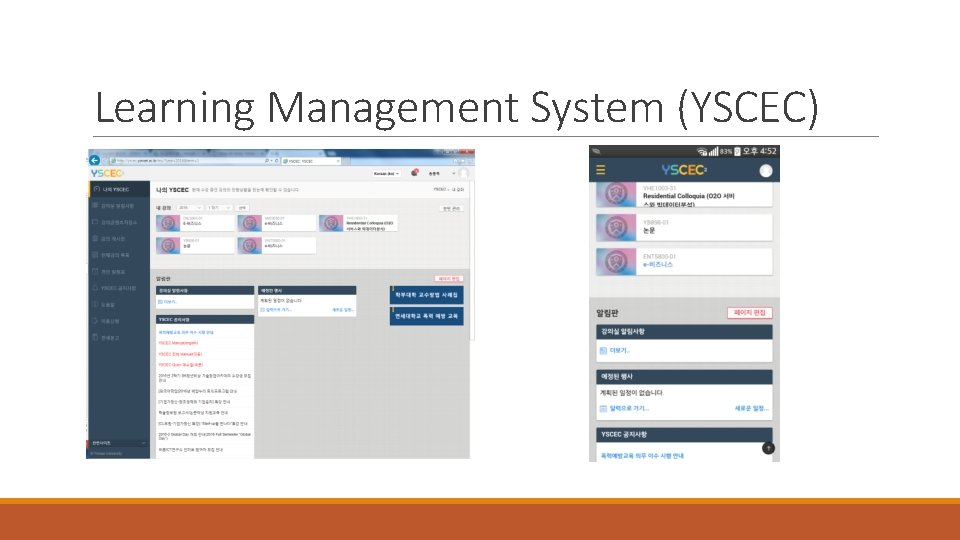 Learning Management System (YSCEC)