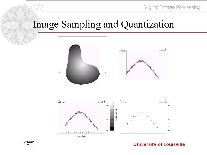 Digital Image Processing Image Sampling and Quantization 3/12/20 21 University of Louisville