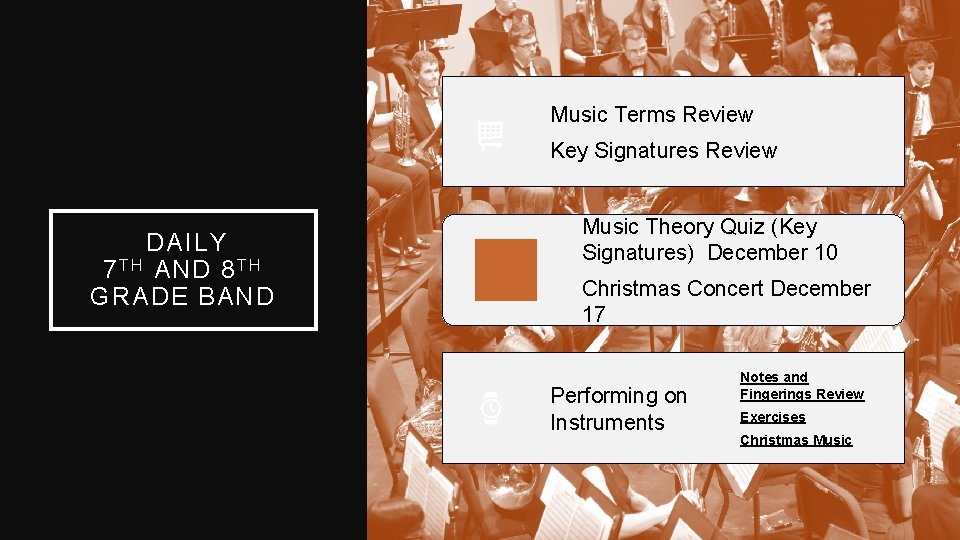 Music Terms Review Key Signatures Review DAILY 7 T H AND 8 T H