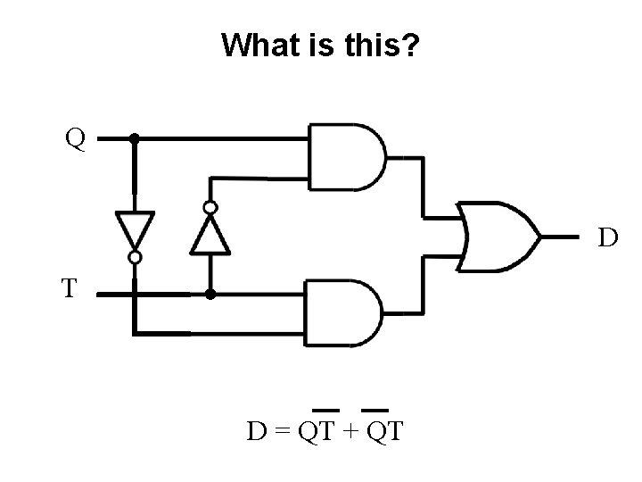 What is this? Q D T D = QT + QT