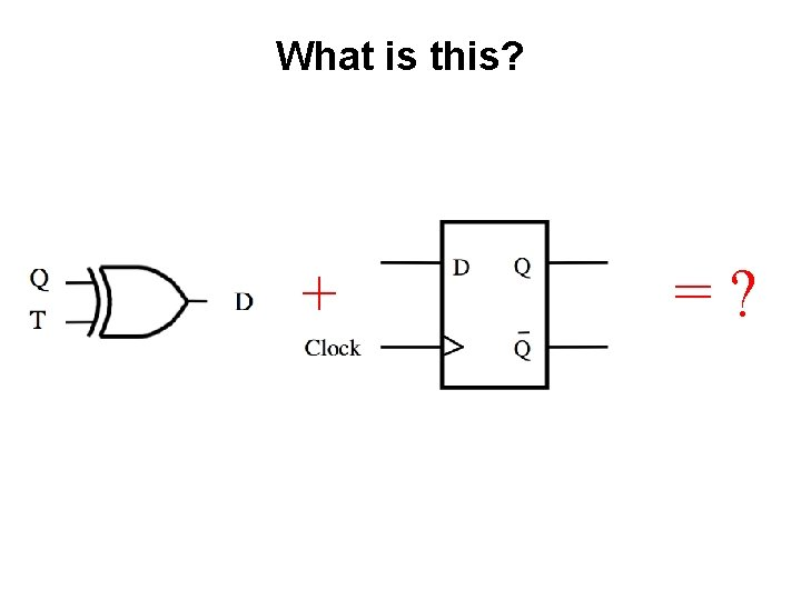 What is this? + =?