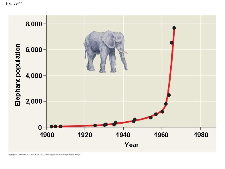 Fig. 53 -11 Elephant population 8, 000 6, 000 4, 000 2, 000 0
