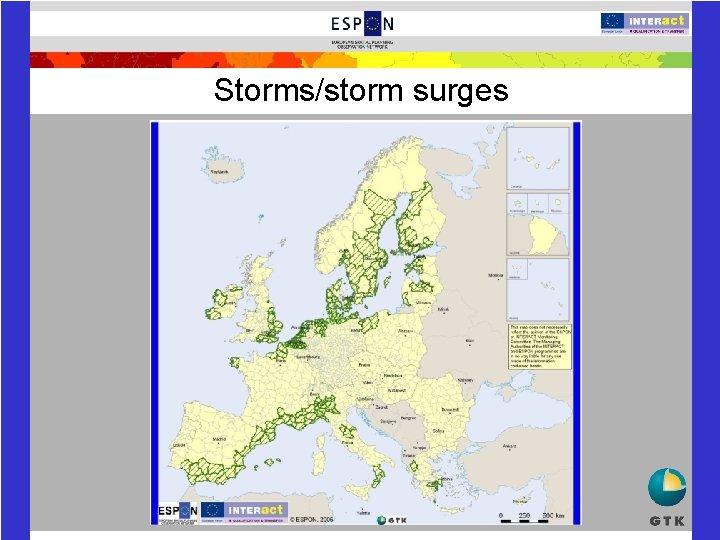 Storms/storm surges