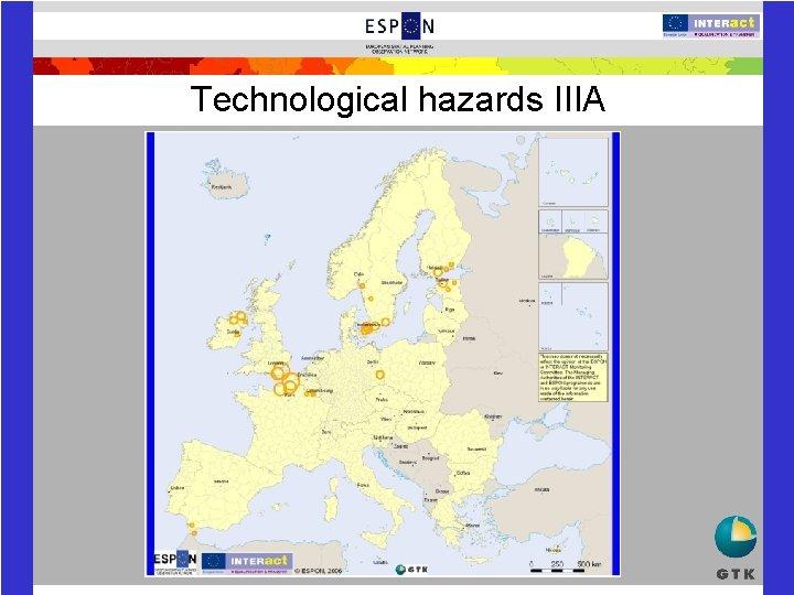 Technological hazards IIIA