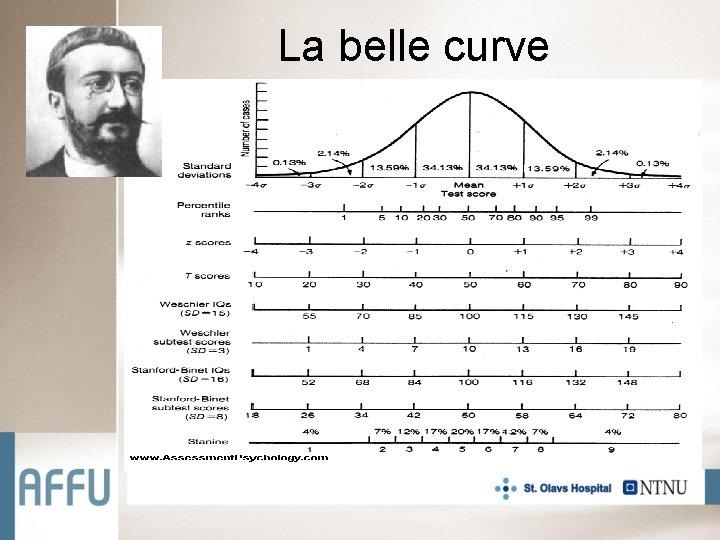 La belle curve