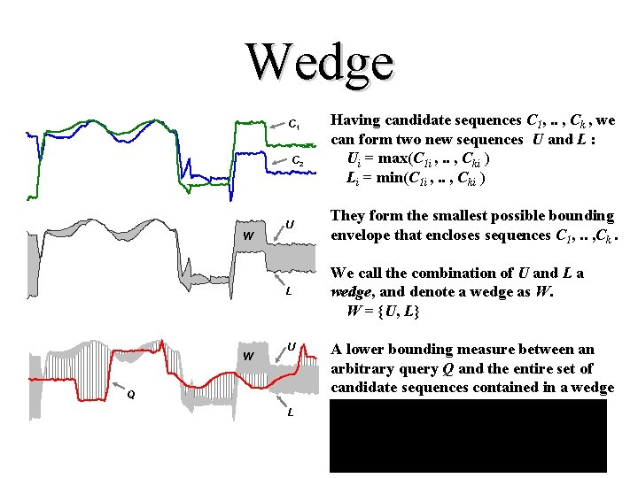 Wedge C 1 C 2 W W Having candidate sequences C 1, . .