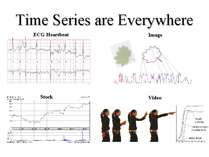 Time Series are Everywhere ECG Heartbeat Stock Image Video