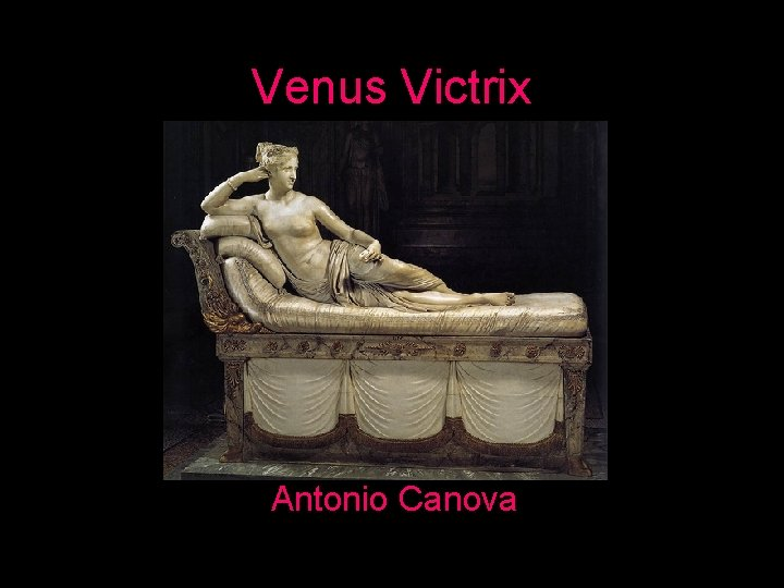 Venus Victrix Antonio Canova