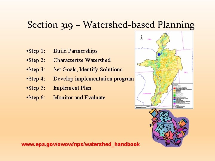 Section 319 – Watershed-based Planning • Step 1: Build Partnerships • Step 2: Characterize