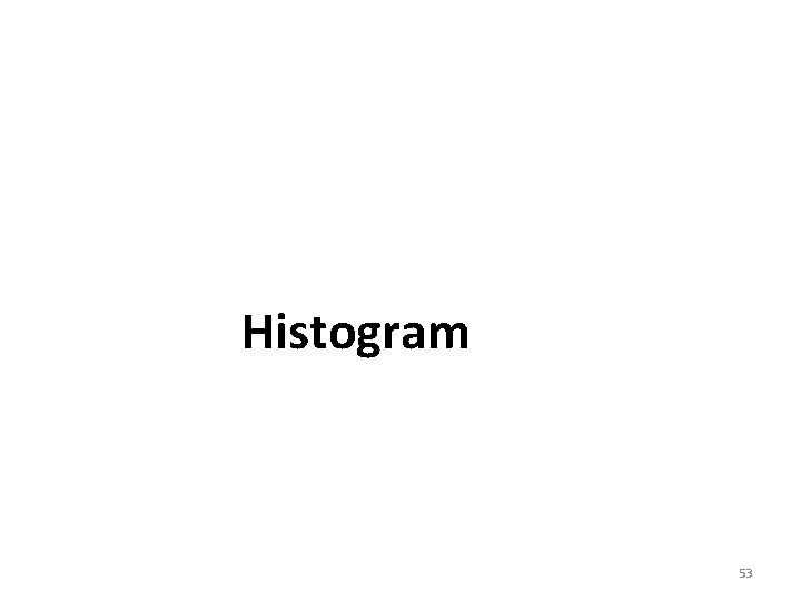 Histogram 53
